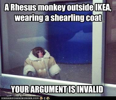 monkeys ikea monkey your argument is invalid rhesus monkeys coat - 6866864384