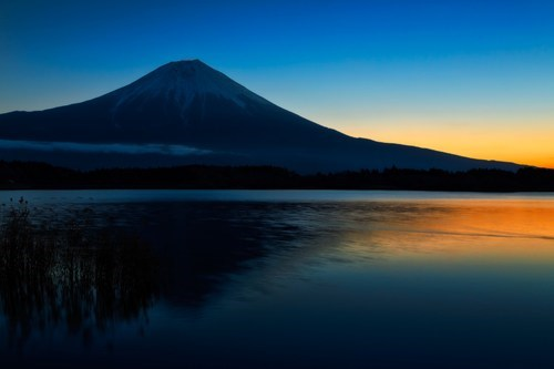 Japan,mt-fuji,sunset