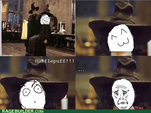 Harry Potter Movie sorting hat Okay what if