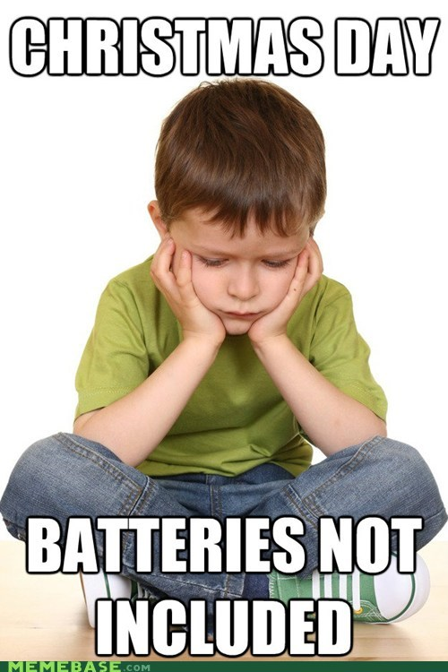christmas jingle memes batteries - 6868120320
