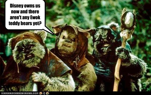 ewoks get on it teddy bears not yet really - 6868210944