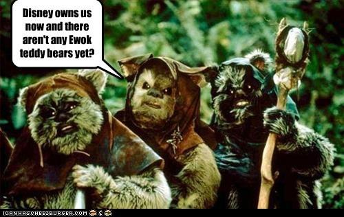 ewoks get on it teddy bears not yet really - 6868210944