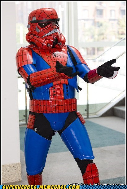 trooper,Spider-Man
