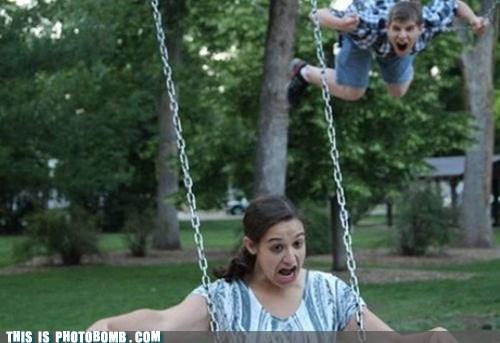 swing pooping superman derp - 6869541120