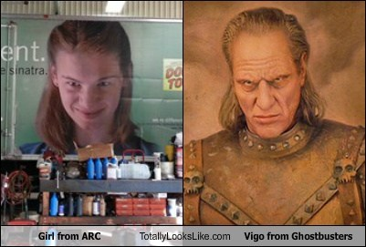 Ad,TLL,Ghostbusters,girl,funny,vigo the carpathian