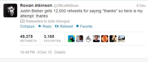 rowan atkinson,twitter,mr-bean,justin bieber