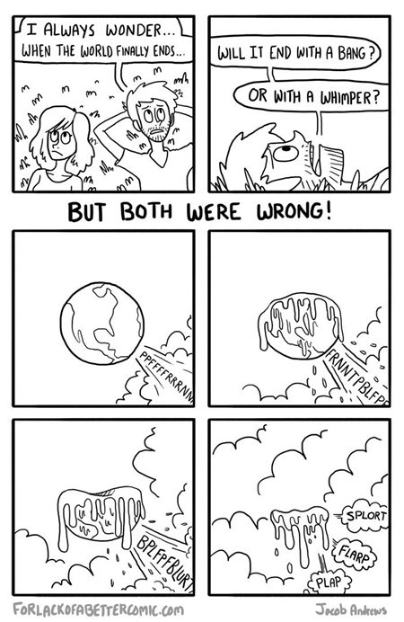farting bang comic mayan apocalypse earth