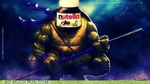 teenage mutant ninja turtles,shoop,donatello,nutella,similar sounding