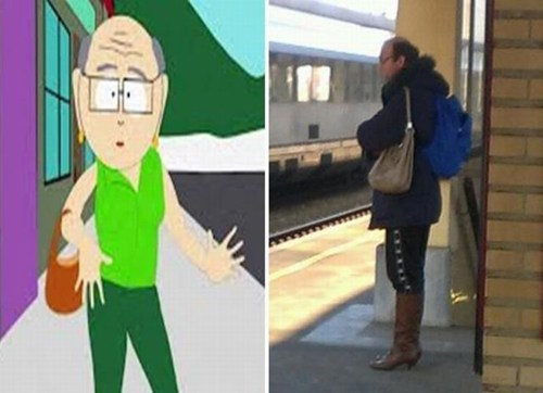 South Park cross dresser mr. garrison - 6870597888