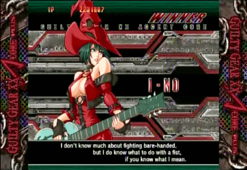guilty gear if you know what i mean fist