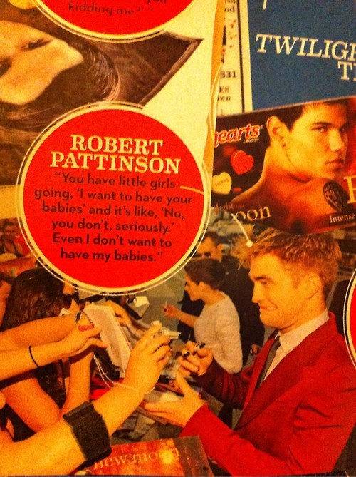 actor robert pattinson twilight funny - 6870964480