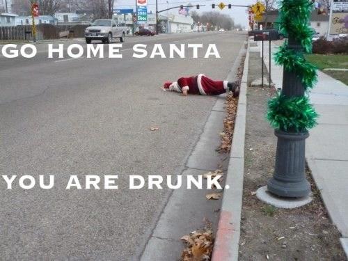 christmas drunk santa funny holidays - 6870987264