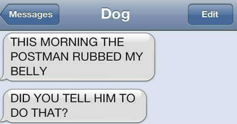 texting with your dogs