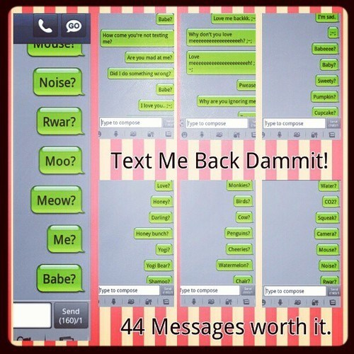 text me back - 6871570944
