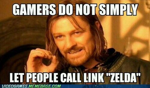 link one does not simply gamers Memes zelda
