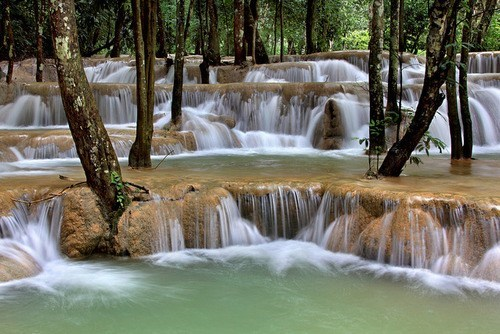 Laung Prabang laos waterfall destination WIN! g rated