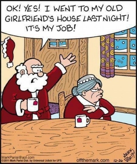 christmas comic santa funny holidays - 6871650048
