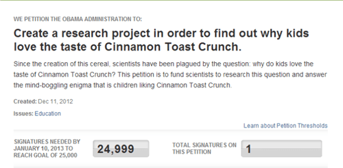 cinnamon toast crunch,internet,petition