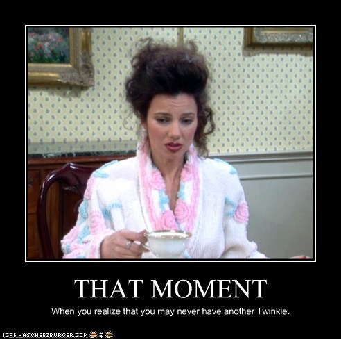 Sad fran drescher twinkie that moment the nanny fran fine