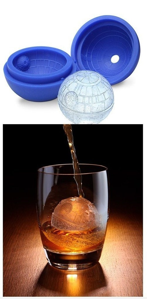 star wars ice cubes nerdgasm Death Star g rated win Hall of Fame best of week - 6872388864