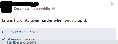 your life is hard youre-vs-your stupid youre