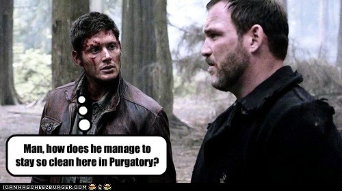 clean,purgatory,jensen ackles,Supernatural,dean winchester,questions
