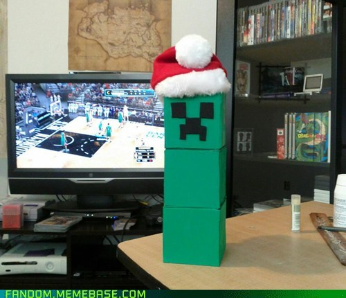 creeper jingle memes minecraft video games - 6872901632