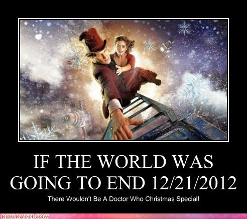 dont worry,christmas special,jenna-louise coleman,Matt Smith,end of the world