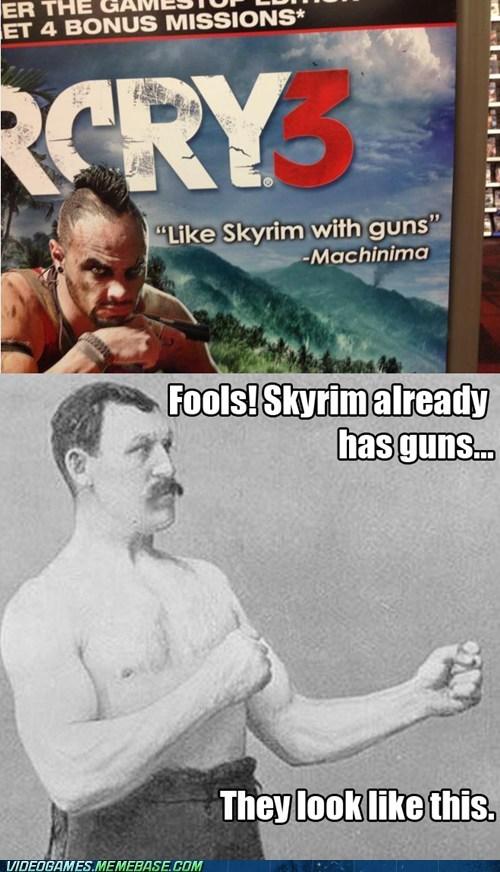 Memes far cry 3 Skyrim overly manly man - 6873160192