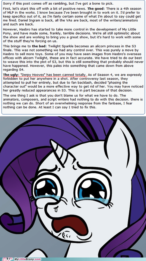 so many feels,alicorn,derpy hooves,welp,outrage,Mod is sad