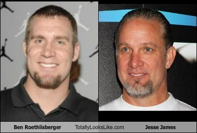 sports TLL jesse james football ben roethlisberger funny