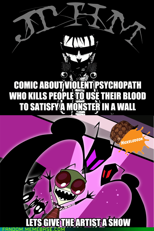 Invader Zim,jthm,johnny the homicidal maniac,jhonen vasquez
