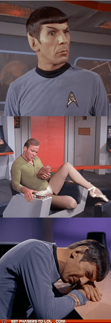 Vulcans,disturbing,Spock,tribble,Leonard Nimoy,William Shatner,Shatnerday,crying