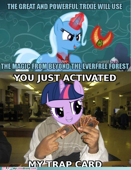 trap card magic duel Yu-Gi-Oh! twilight sparkle