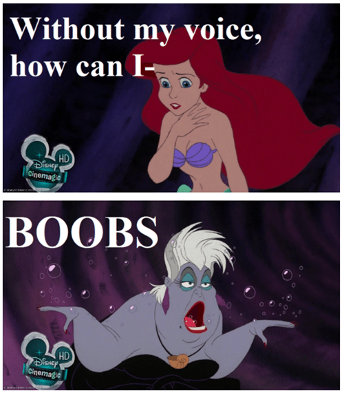 disney breasts The Little Mermaid dating fails - 6874427904
