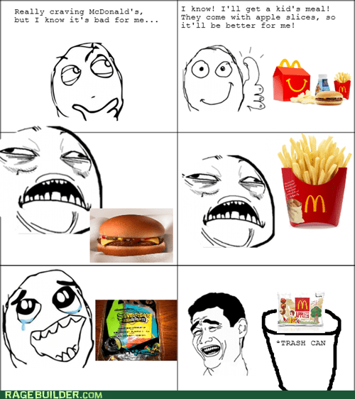 me gusta,yao ming,McDonald's,apple slices,sweet jesus,fries