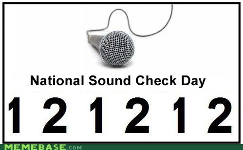 sound check,mic check,december 12 2012