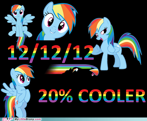 dates 12/12/12/ rainbow dash - 6875070464