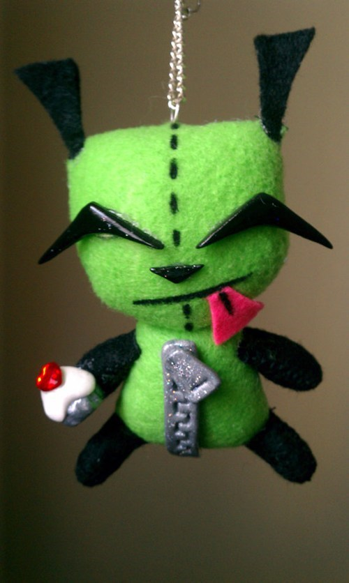GIR Plush Invader Zim Fan Art for sale cartoons - 6875219200