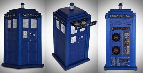 pc case tardis doctor who computer nerdgasm g rated win - 6875364096