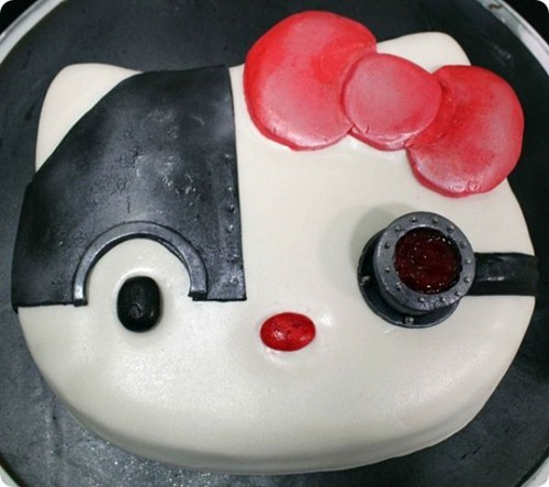 cake borg cute hello kitty food - 6875366144