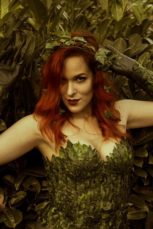 cosplay,DC,superheroes,poison ivy