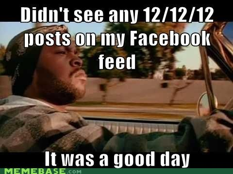 facebook december 12 2012 it was a good day