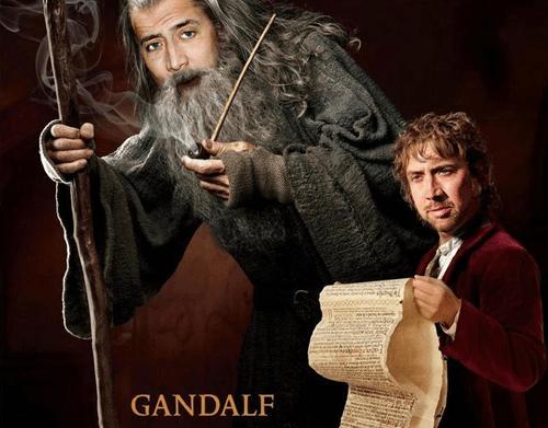 peter jackson Movie actor The Hobbit nicolas cage funny - 6875440384