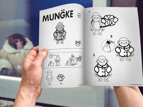parody,ikea,monkey