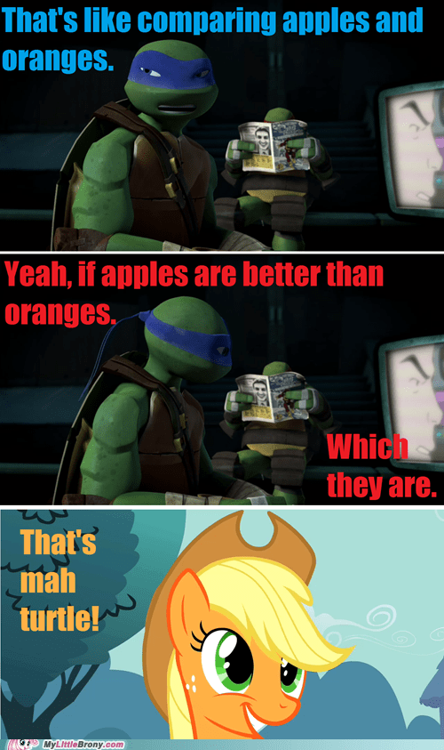 applejack,TMNT,turtles