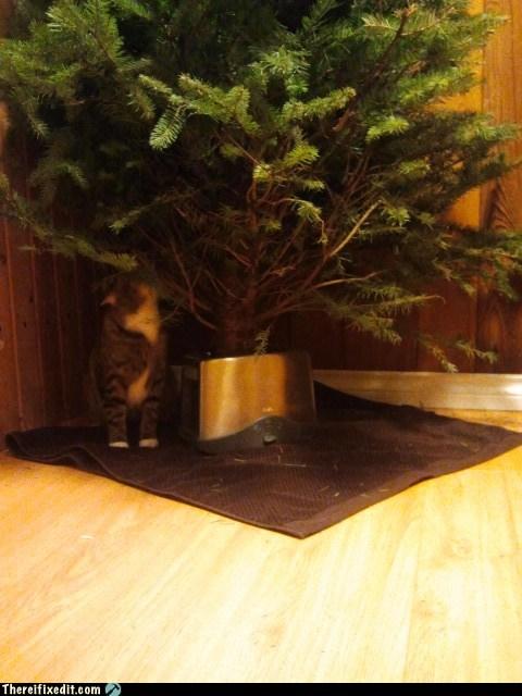 christmas stand christmas tree toaster - 6876057856
