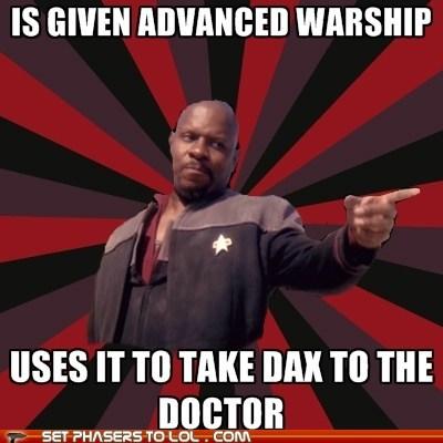 doctor dax avery brooks Star Trek Deep Space Nine warship - 6876074240