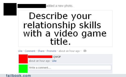 impossible,QWOP,relationship skills,video games