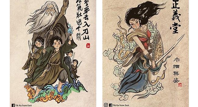 chinese art art China pop culture artwork superheroes chinese - 6877189